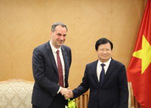 シーメンス社は最適な技術と価格でベトナムの基本インフラ整備を支援