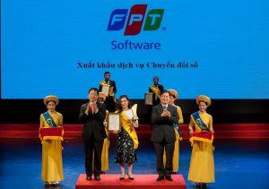 FPTソフトウェア  デジタル変革のパイオニアと認定