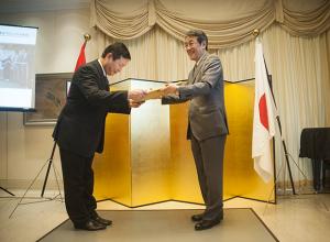 FPT 日越友好関係構築への貢献を讃える賞を受賞