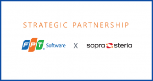 FPTソフトウェア ソプラ・ステリアと戦略的パートナーシップを締結