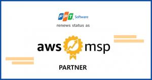 FPTソフトウェア AWSマネージドサービスプロバイダー(MSP)パートナーのステータスを更新