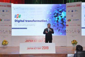 FPTソフトウェア会長 ホアン・ナム・ティエン Japan ICT Day 2019 にてデジタル変革に関して講演