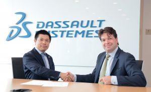 ダッソー・システムズ株式会社と新たなパートナーシップに関する覚書締結のお知らせ